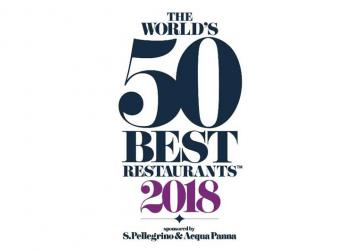 """The World's 50 Best Restaurants"" Listado ganadores 2018"